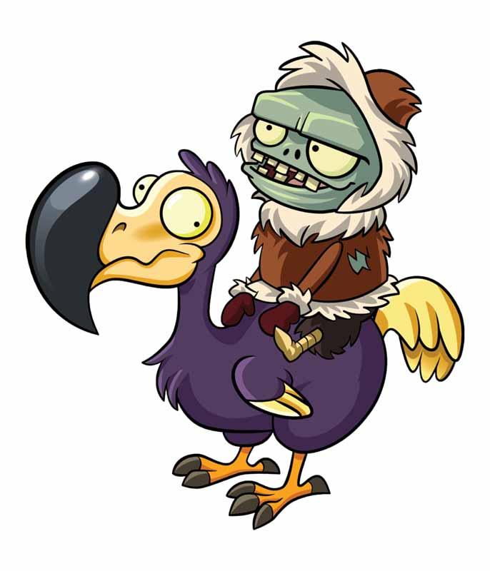 دانلود طرح زامبی مرغ سوار