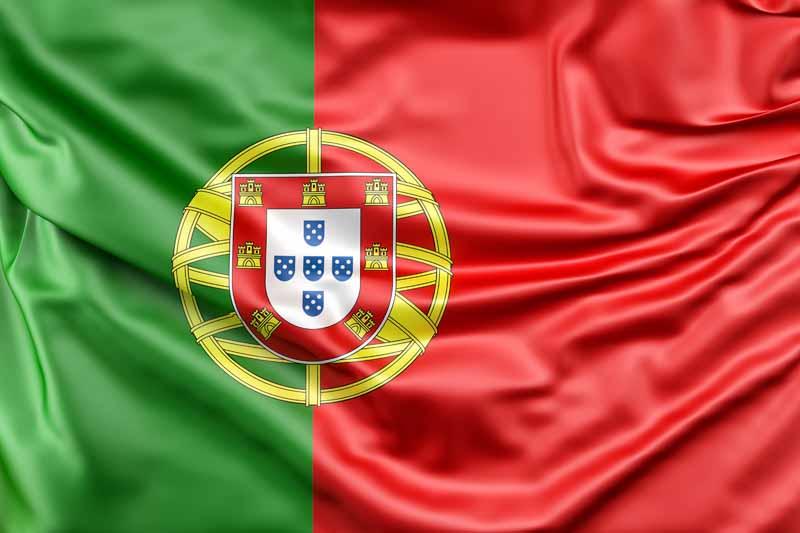 عکس پرچم پرتغال