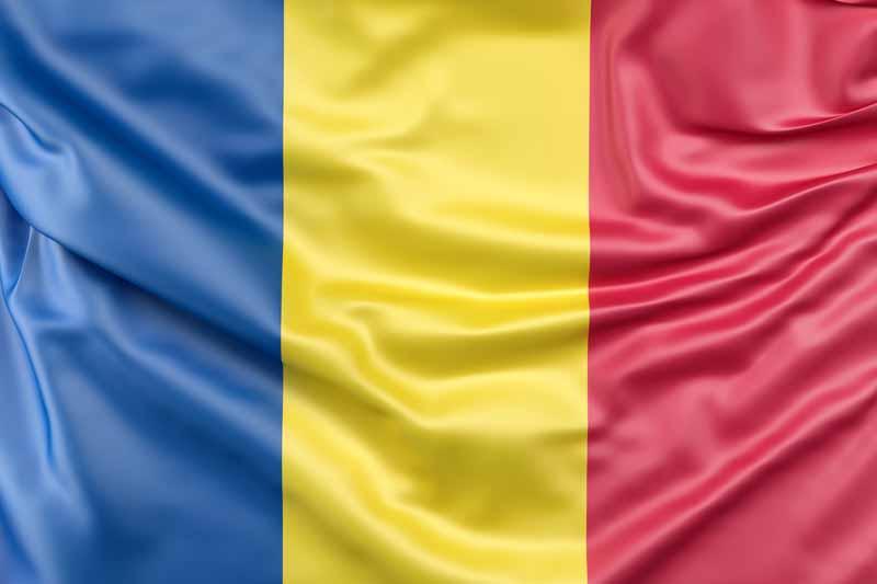 دانلود عکس پرچم رومانی