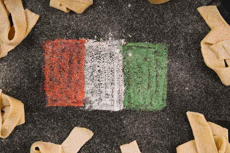 دانلود عکس نقاشی پرچم ایتالیا
