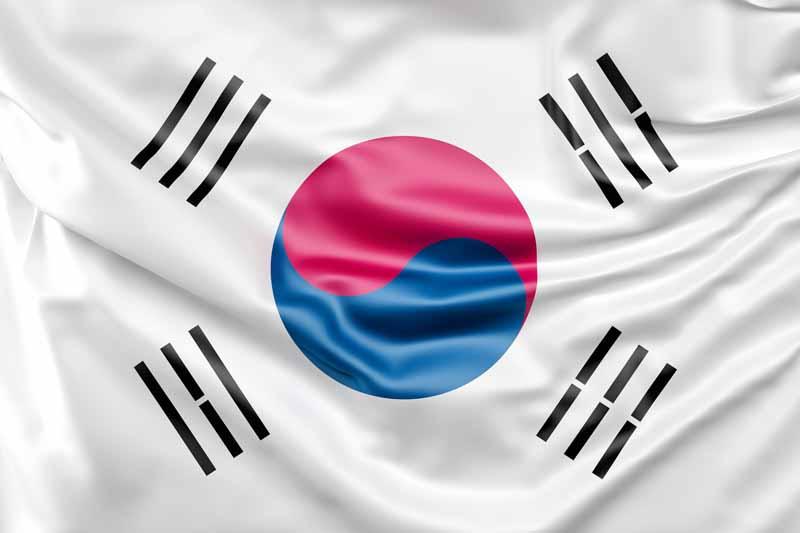 عکس پرچم کره جنوبی