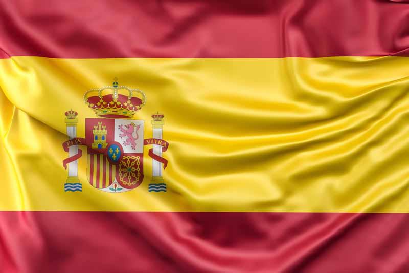 عکس باکیفیت پرچم اسپانیا