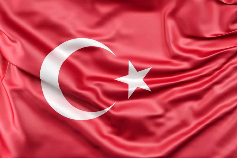 عکس باکیفیت پرچم ترکیه