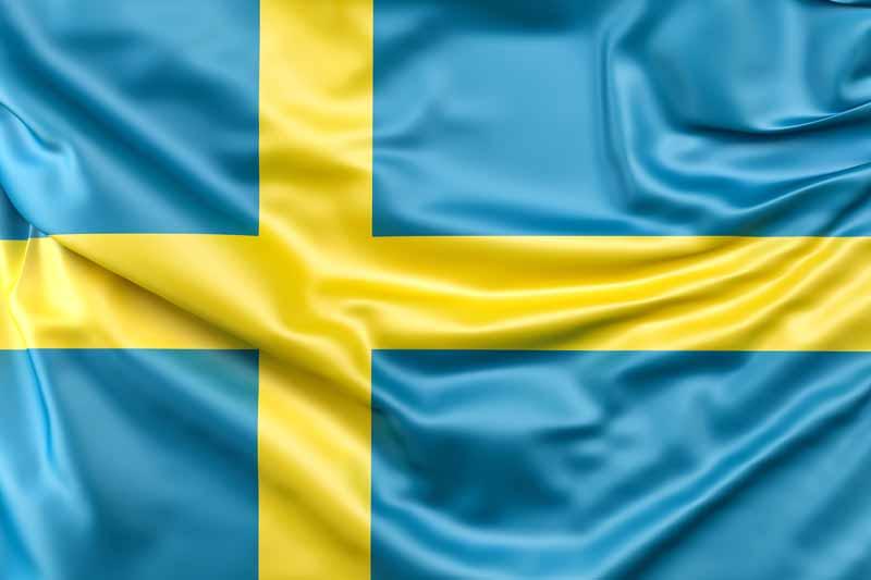 دانلود عکس پرچم سوئد