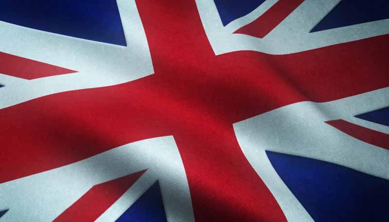 عکس باکیفیت پرچم بریتانیا
