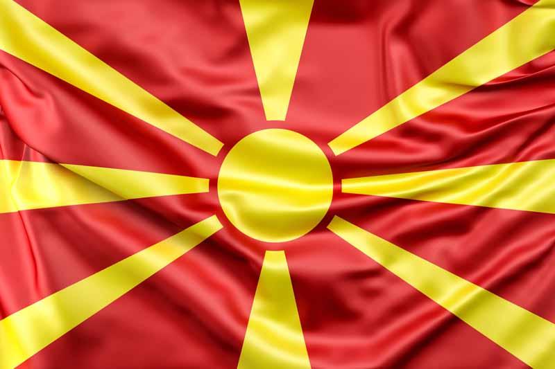 عکس پرچم مقدونیه