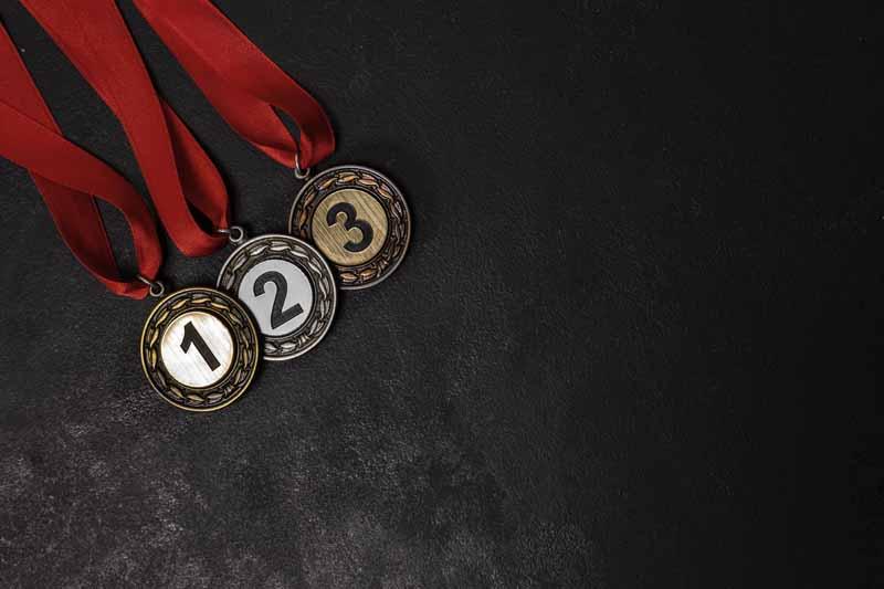 عکس لارج فرمت مدال های قهرمانی