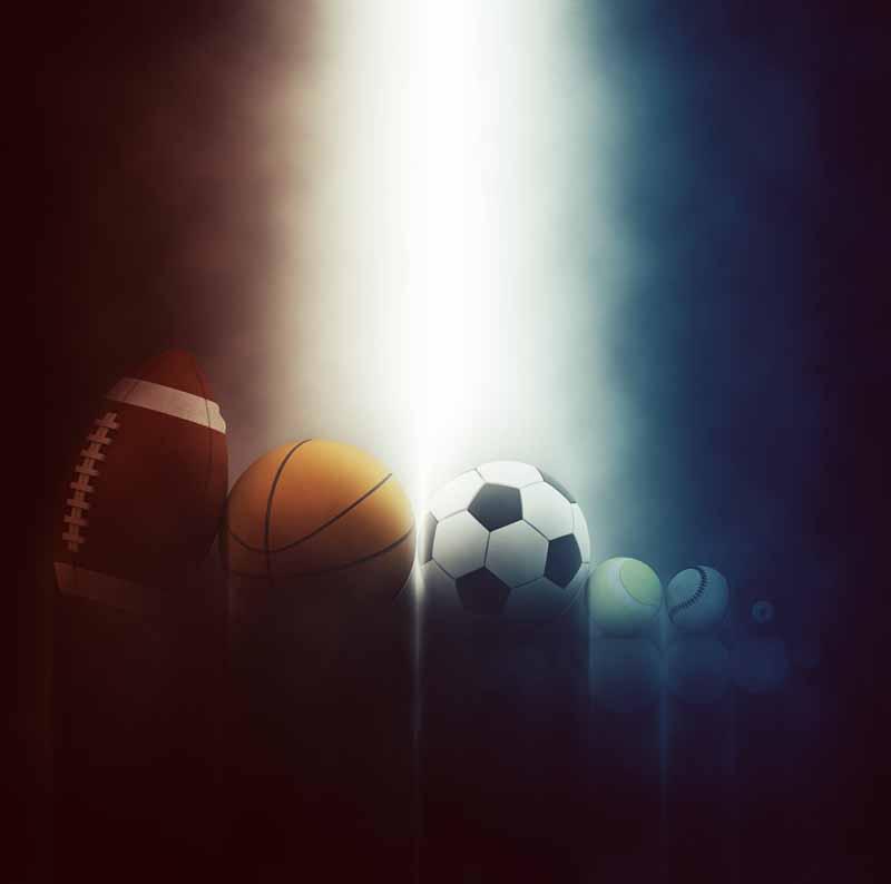 تصویر باکیفیت ورزش های با توپ