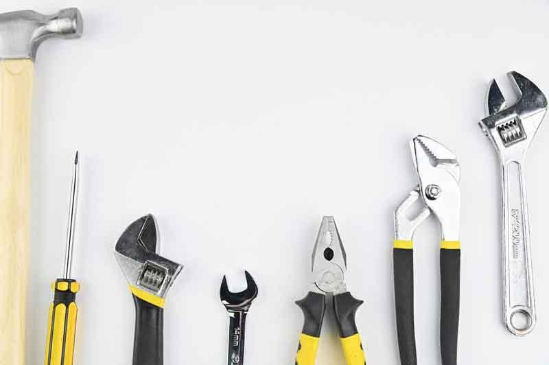 تصویر لارج فرمت انواع ابزارآلات