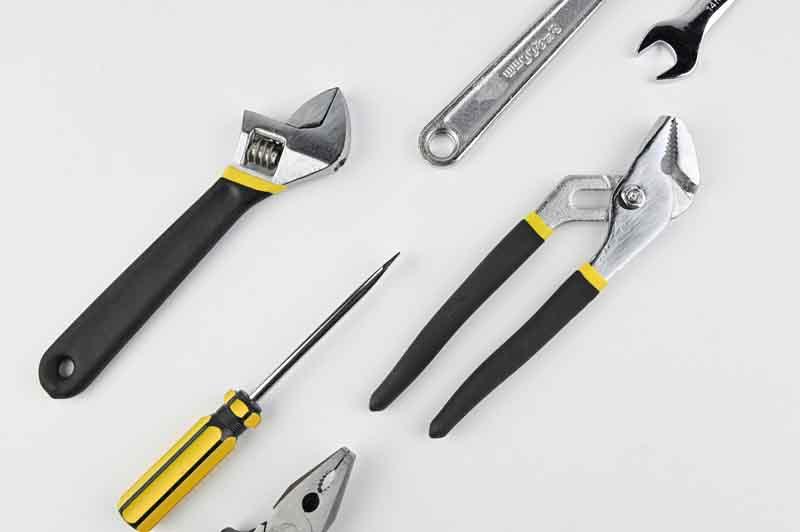 تصویر با کیفیت انواع ابزار