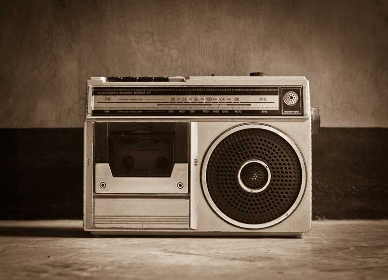 تصویر باکیفیت دستگاه رادیو