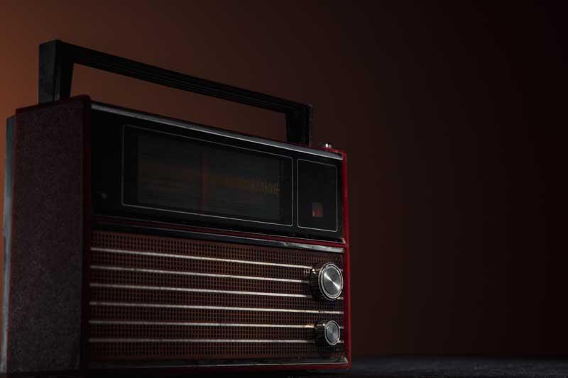 عکس باکیفیت رادیو قدیمی