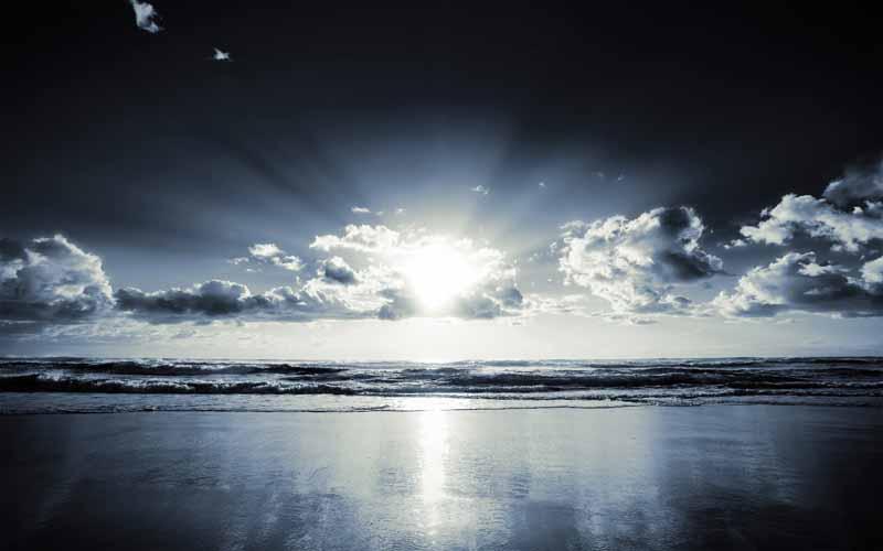 تصویر باکیفیت دریای مواج
