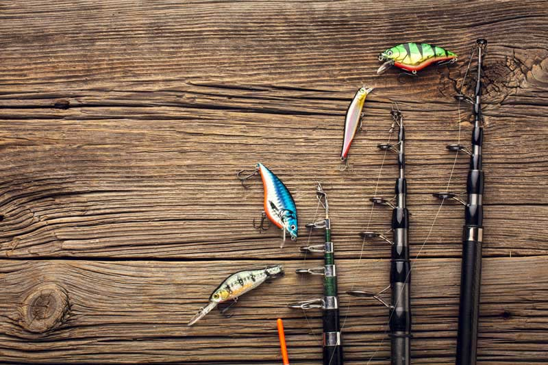 عکس تجهیزات ماهیگیری