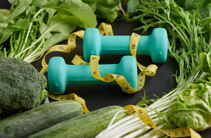 عکس سبزیجات و ورزش