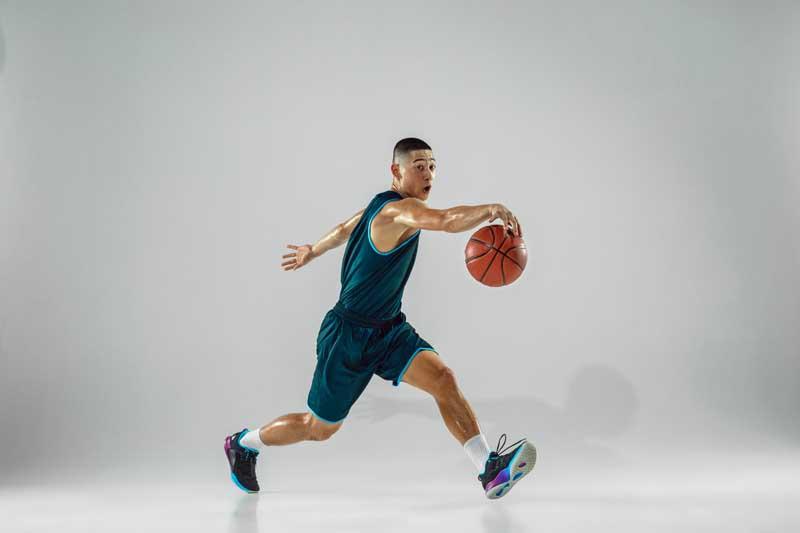 عکس بسکتبالیست