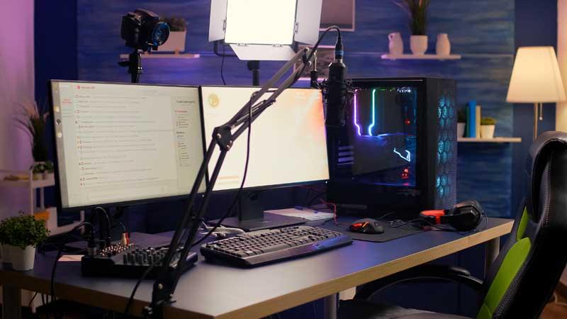 تصویر باکیفیت میز مجهز به ضبط فیلم