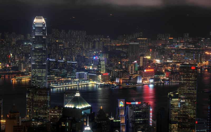 دانلود عکس کلان شهر از نمای بالا