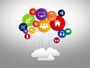 عکس باکیفیت فضای ابری و ارتباطات