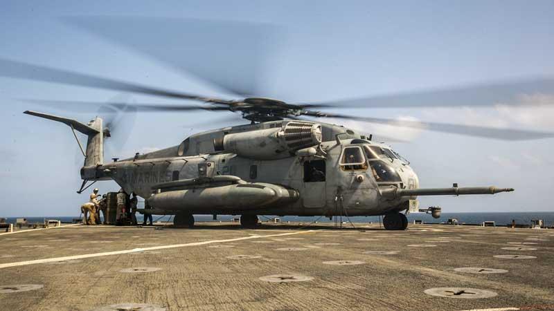 دانلود عکس هلیکوپتر سیکورسکی سیاچ-۵۳ئی سوپر استالیون