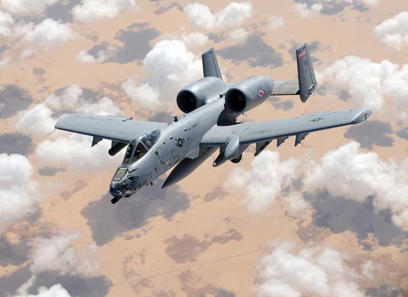 دانلود تصویر جنگنده ای-۱۰ تاندربولت