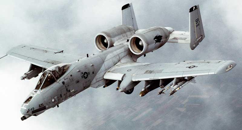 دانلود تصویر باکیفیت جنگنده ای-۱۰ تاندربولت