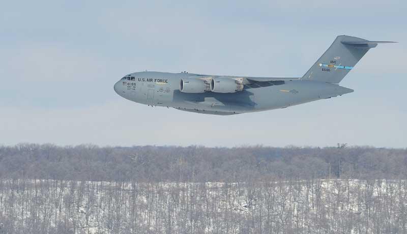 دانلود عکس باکیفیت هواپیمای باری سی 17