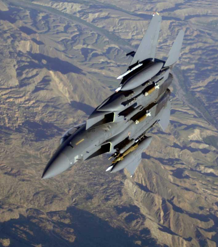 تصویر با کیفیت جنگنده اف 15 ایگل