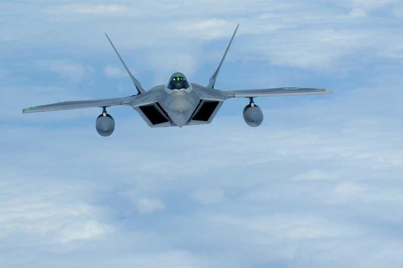 تصویر باکیفیت جنگنده اف 22 رپتور