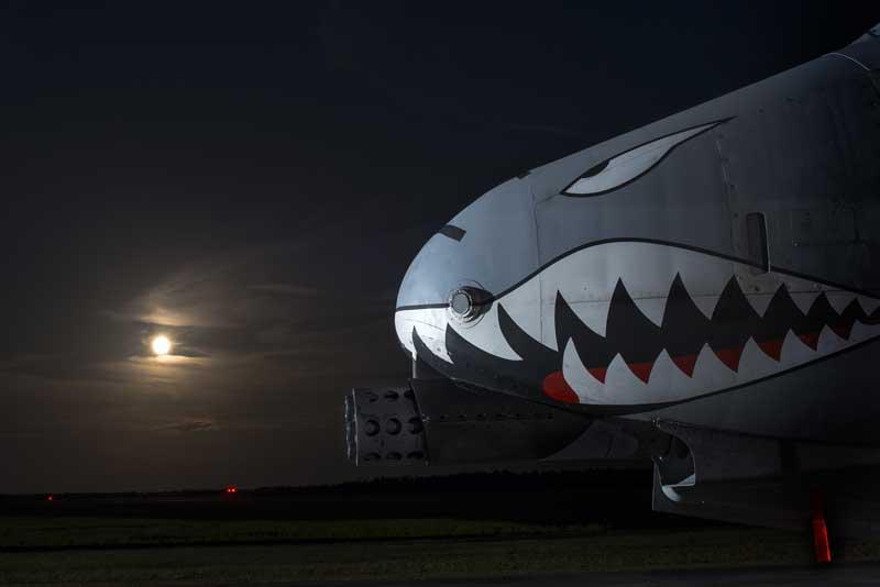 دانلود تصویر دماغه جنگنده ای-۱۰ تاندربولت