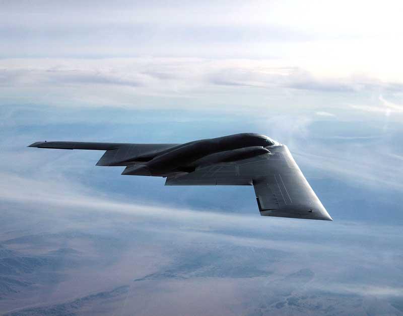 دانلود تصویر بمب افکن بی-۲ اسپیریت