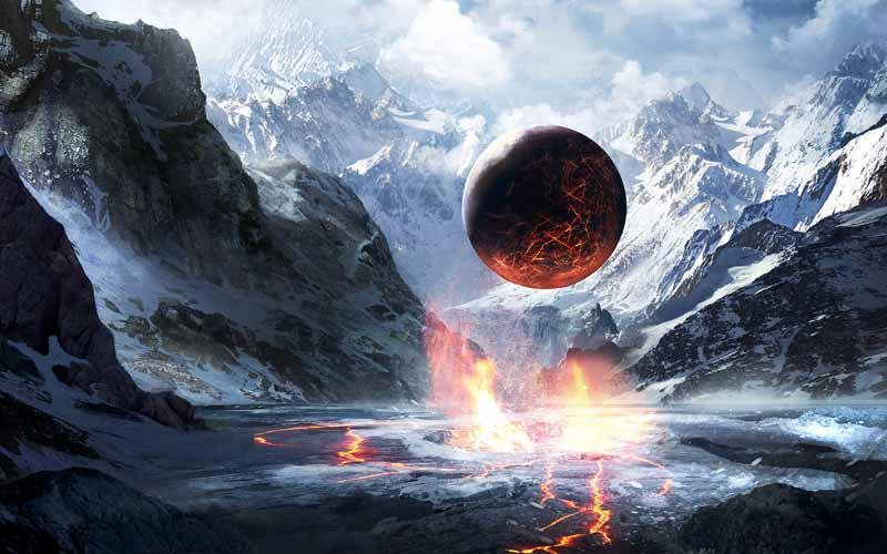 تصویر باکیفیت از انجماد سیاره زمین در میلیون ها سال قبل