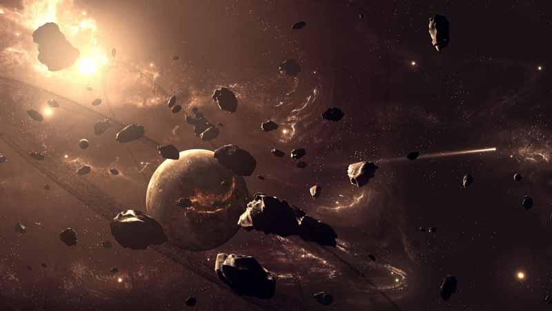 عکس باکیفیت تولد ستاره ها در فضا