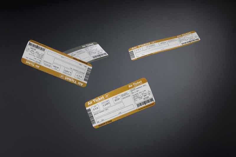 تصویر بلیط های هواپیما